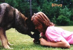 Bihva und Christina